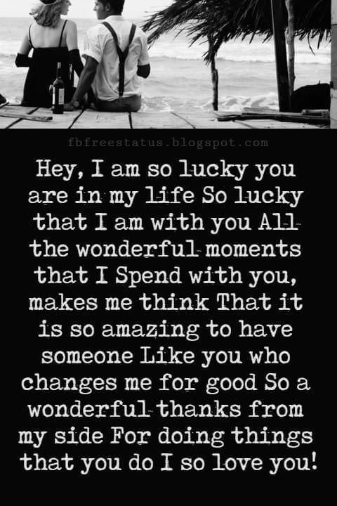 you are my life messages
