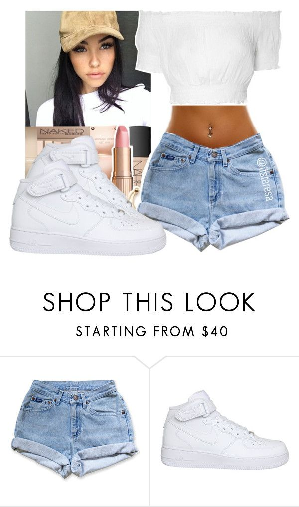"""Madison Beer inspired outfit"" by itsteresa ❤ liked on Polyvore featuring NIKE and Glamorous"