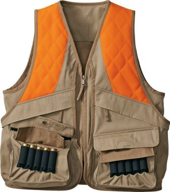 So ready for pheasant season finally got me a serious for Cabelas fishing vest