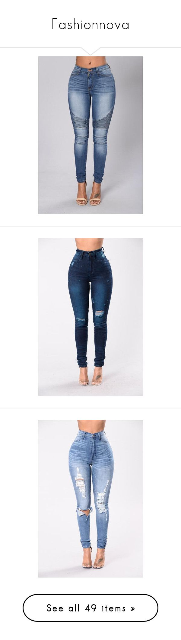 """""""Fashionnova"""" by bigdaddycam43 ❤ liked on Polyvore featuring jeans, bottoms, womens jeans, olive green jeans, army green jeans, olive jeans, blue jeans, pants, high waisted distressed jeans and high rise skinny jeans"""