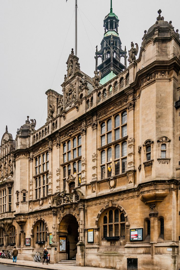 Town Hall, Oxford, UK