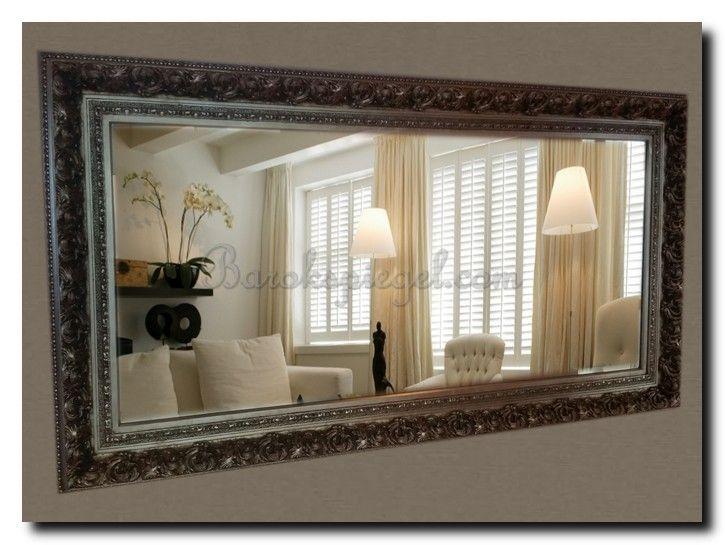 Wandspiegel groot barok antiekzilver grote spiegels for Barok spiegel groot