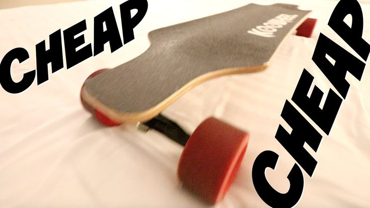CHEAPEST Electric Skateboard REVIEW