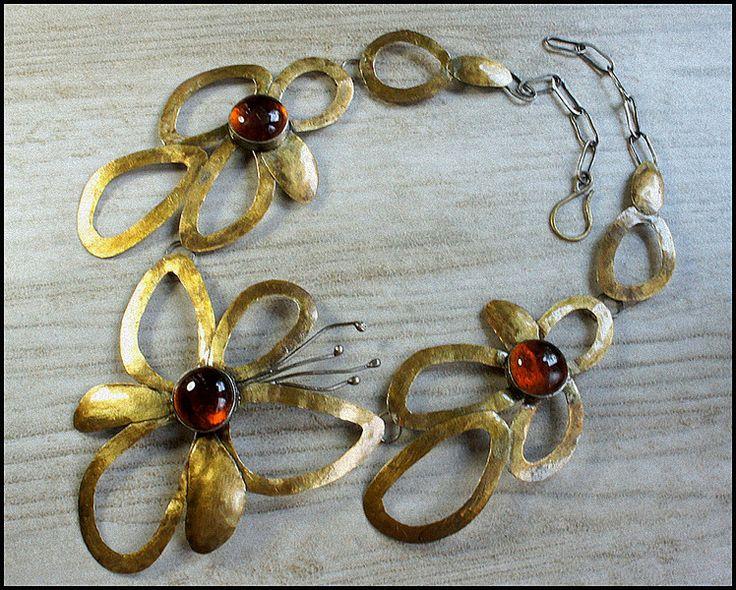 Naszyjnik motyl w artkatalina -  biżuteria artystyczna na DaWanda.com