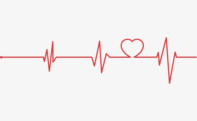 Red Heart Line Chart Png And Vector Heart Bit Blur Background In Photoshop Red Heart