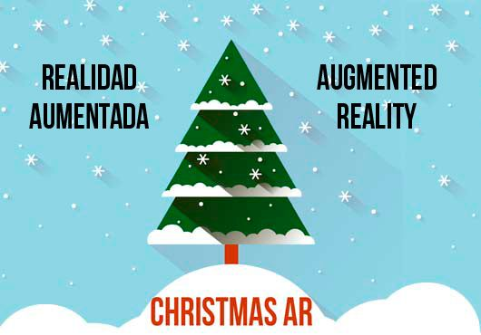 Decora el árbol de Navidad con Realidad Aumentada #ChristmasAR –