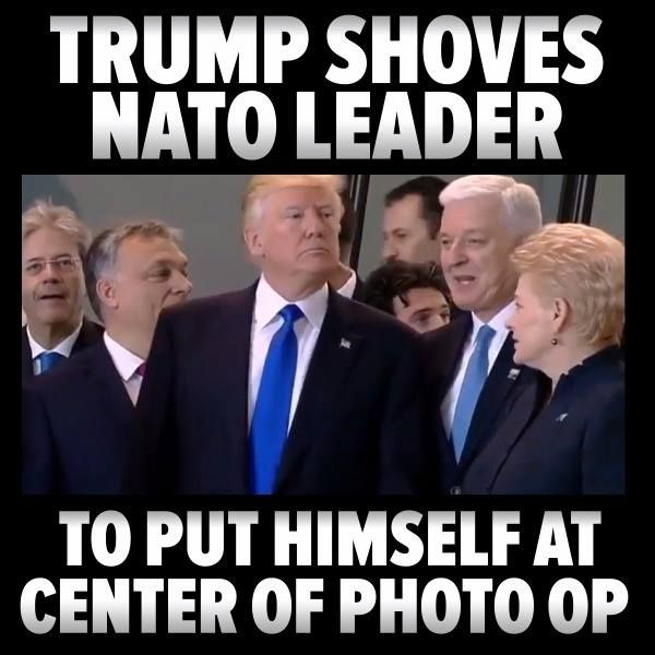 This shows everything about Rump.  He's pathologically narcissistic, a bully, a pig, socially deranged, etc.  Unfit for society, certainly unfit to lead the free world.