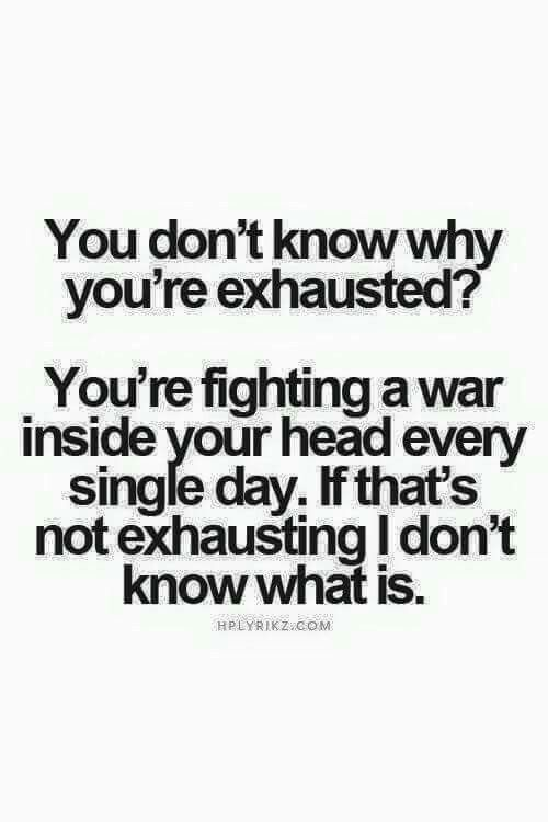 Fighting....