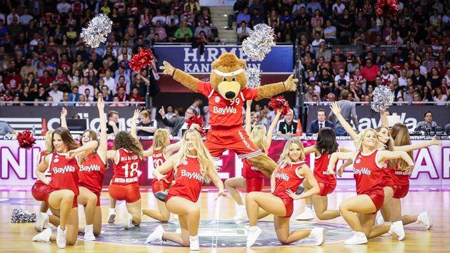Cheerleader - FC Bayern Basketball