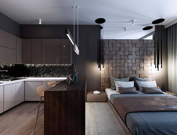 Квартира-студия 35 м