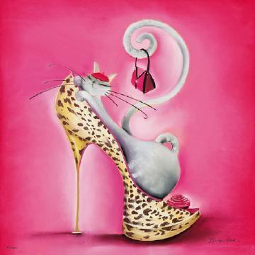 "cat Loretta - Marilyn Robertson - ""Catitudes"""