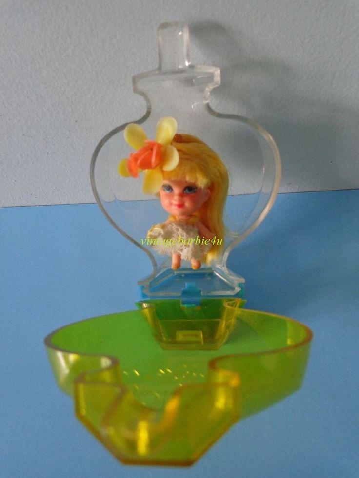Vintage Liddle Kiddle Doll *Kolognes Honeysuckle #3704* Bottle Hong Kong Mattel