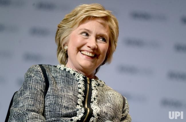 United States former First Lady Hillary Clinton speaks at BookExpo 2017 at the Jacob K. Javits Convention Center in New York City on June…