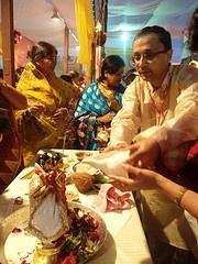Adarsh Modi Commn Income Tax Pune. Performing sri krishna abhishek @ISKCONPune
