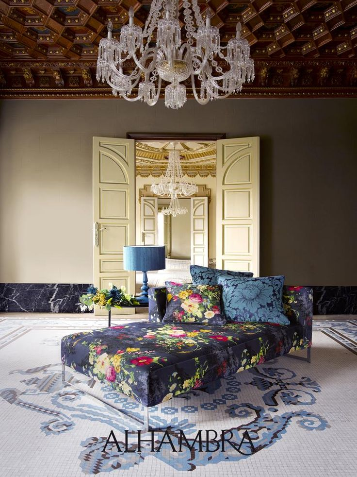 Alhambra fabric. maisonlaurey.nl