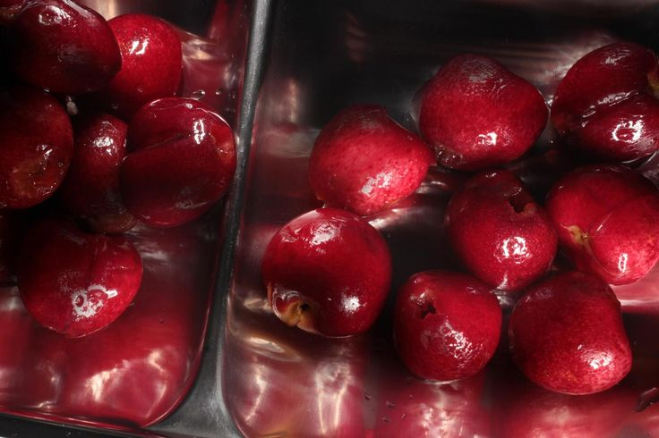 Farewell Day-Glo cocktail cherries.