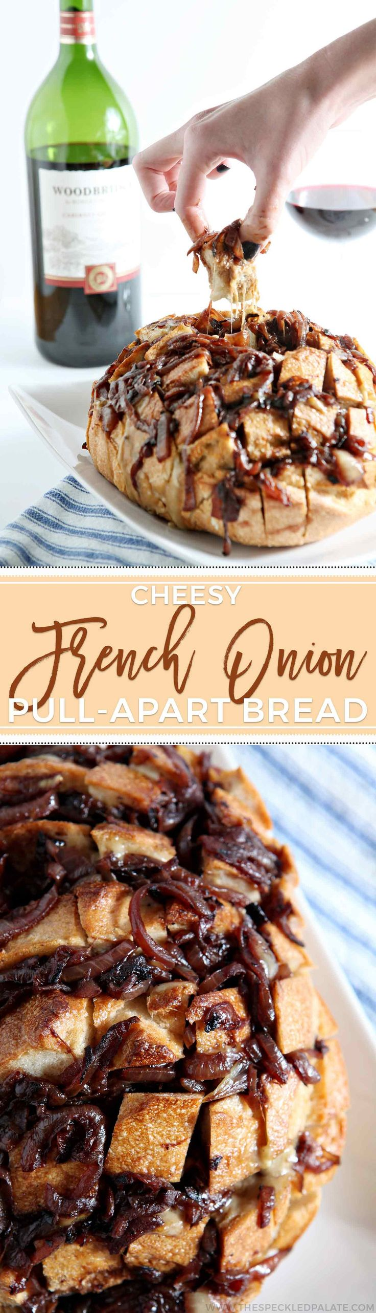 ... Cheesy, gooey, delicious bread that tastes like French Onion Soup! #ad