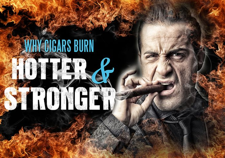 One of the side effects of smoking is the likelihood thatcigarsburn hotter,stronger and bitter in the last couple of inches. If this is something you can relate to, there's actually something you can do about it. Construction, burn and draw…