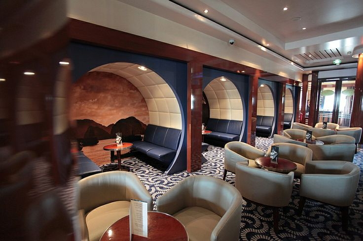 LOVE the alcoves! PERFECT spot for an Australia Day cocktail on the Pacific Jewel! #AustraliaDayOnboard