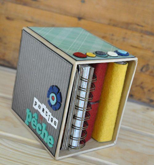 les minis albums un un en v lo ou en j 39 aime a travers les parties de p che. Black Bedroom Furniture Sets. Home Design Ideas