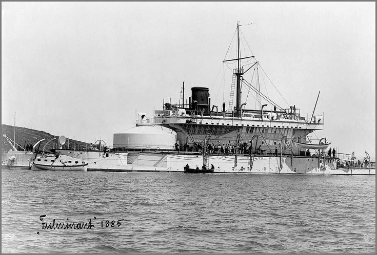 Tonnerre-class French coastal defence ironclad battleship ...