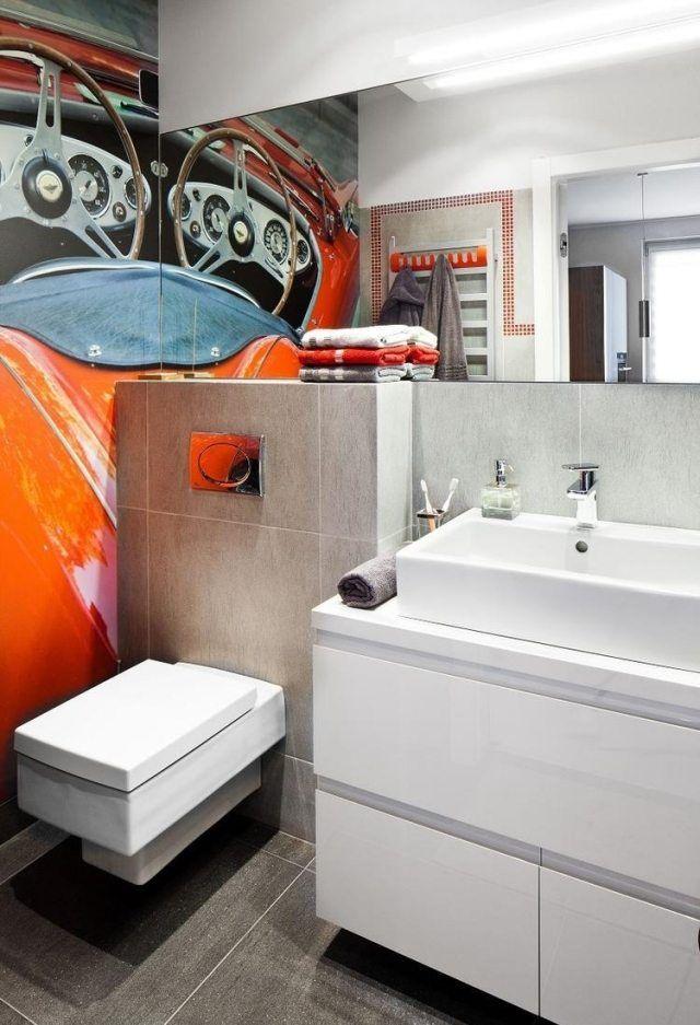 """zu """"Orange Badezimmer auf Pinterest Badezimmer, Lila Badezimmer ..."""