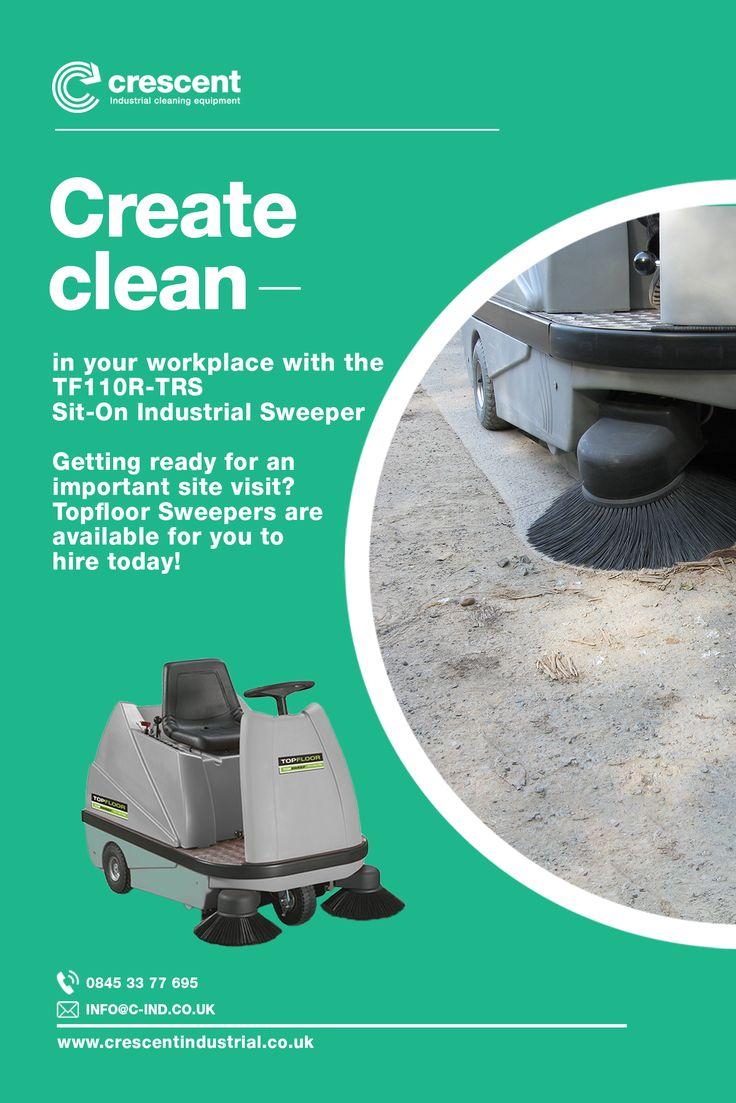 Ride on Floor Sweeper (With images) Floor cleaner, Floor