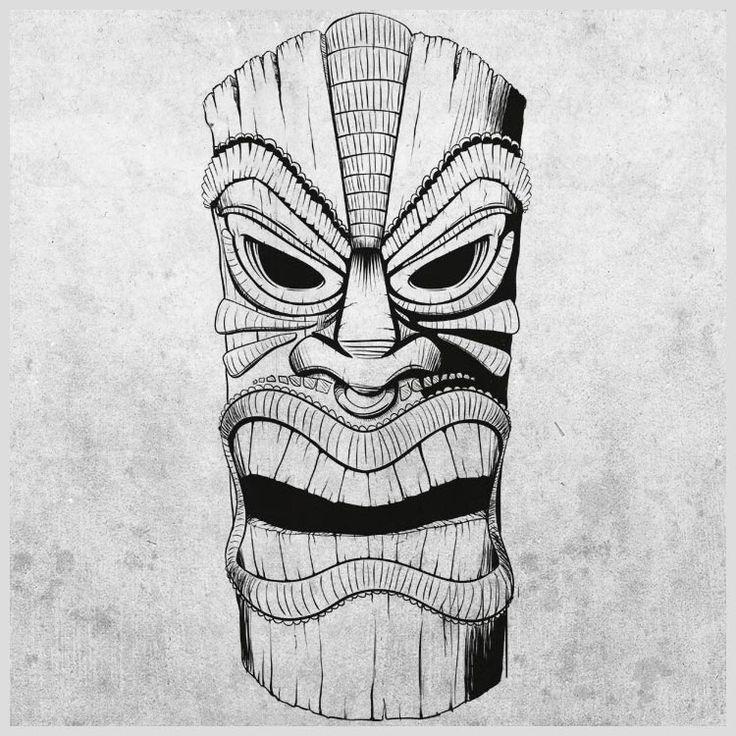 ... about Tiki Tattoo on Pinterest | Tiki art, Tiki totem and Tiki book