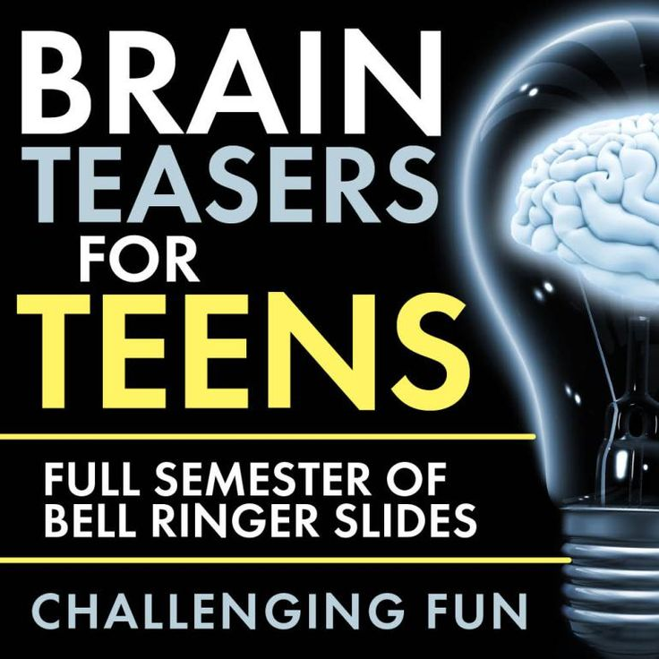 Time to add some challenging fun to your classroom routine with Brain Teasers for teens! First, give these head-scratchers a try: When you're ready, scroll down for the answers. Now, did you really...