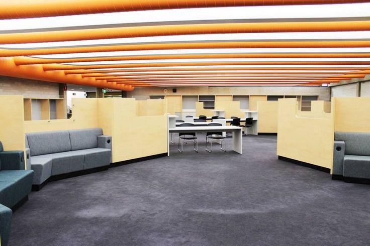 Custom joinery at Cabramatta Library
