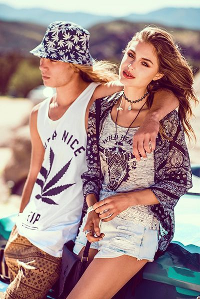 Dope, 90's inspired, Ripped shorts and Kimonos : Perfect off duty style