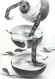 武蔵野美術大学(ムサビ)空間演出デザイン学科合格デッサン作品再現