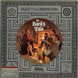 Bard's Tale.  The best in old school, turn based RPGS on the Commodore 64.  The first was the best with its Wizardry like mazes and magical loot to find, interlocking levels with its clever quests and puzzles and a believable ending that made the 100s of hours I poured into it worth it.