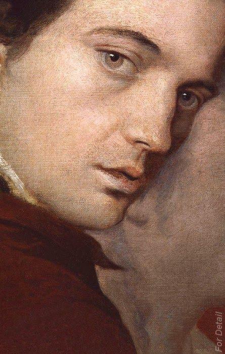 James Barry, Dominique Lefevre, James Paine the Younger by James Barry - Detail