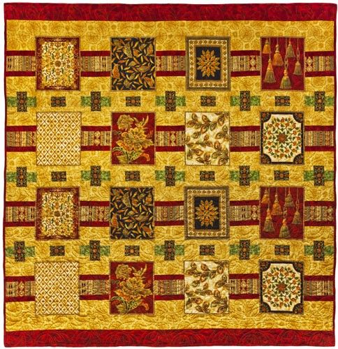 Mahal Magic Quilt Pattern, Culture Club by Leesa Chandler Designs at Creative Quilt Kits