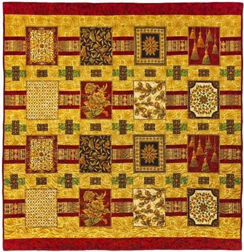 Mahal Magic Quilt Pattern, Culture Club by Leesa Chandler Designs at Creative Quilt Kits