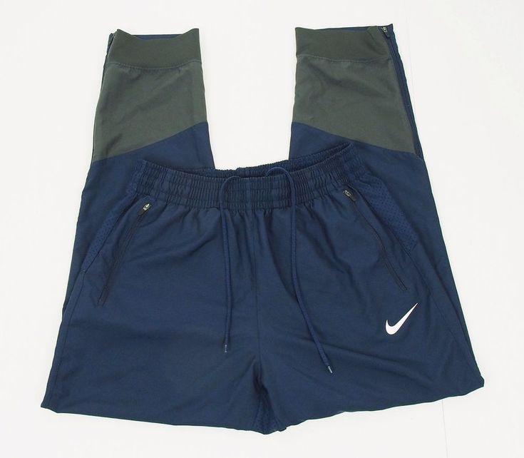 Nike air drifit blue disruption basketball warmup pants