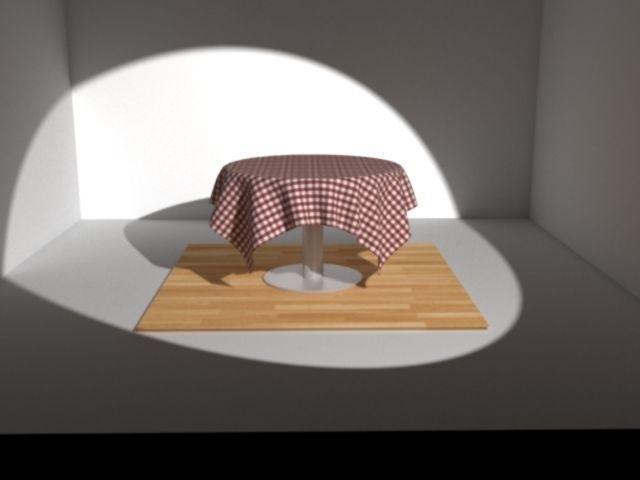 Table cloth | 3D Model