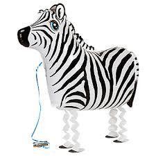 Zebra Balloon | Animal Party Theme and Supplies