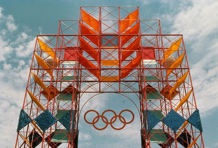 1984 Los Angeles Olympics, USA  by Los Angeles 84 Design Team