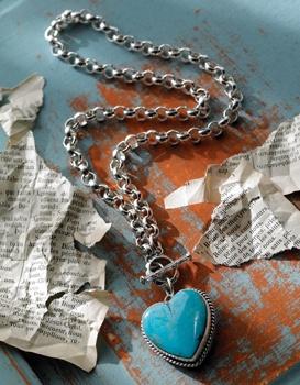 One Heart necklace/bracelet by Joan Slifka