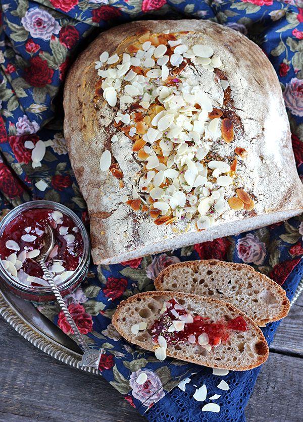 Chleb różany na zakwasie