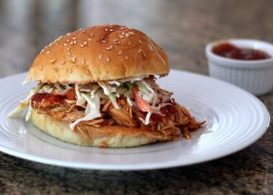 Slow Cooker Pulled Chicken - Diana Rattray