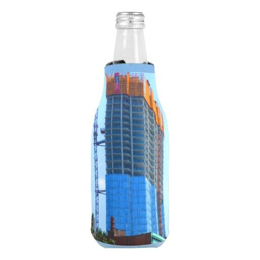 KOOZIE Bottle Cooler Boston Architecture Towers