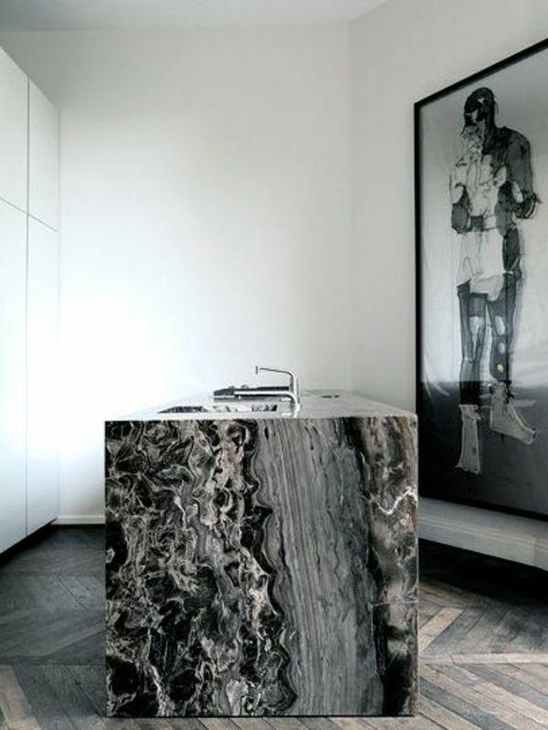 Les 25 meilleures idées de la catégorie Salle de bain en marbre ...
