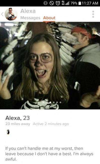 Tinder Users Who Were Extremely Candid With Their Dating Profile - Neatorama