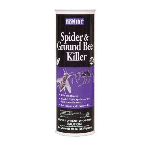 Bonide 363 Spider & Ground Bee Killer, 10 oz, Green clover, Gardening