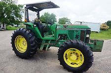 1996 John Deere 6400 Tractor 100 Horsepower 4x4 in Mississippi NO RESERVEfinance tractors www.bncfin.com/apply