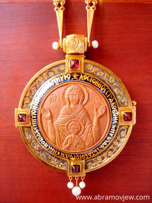 Православные иконы - Каталог - Ладанки и панагии - Панагии