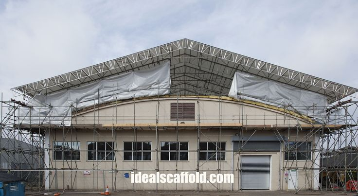 System temporary roofing installation for a client in Norwich, Norfolk.